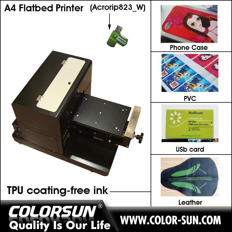 帶筆記本電腦的A4尺寸無塗層平板打印機 5