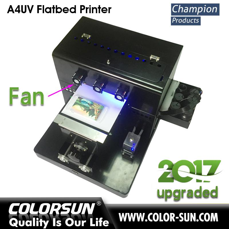 2017 New upgraded A4 UV  Flatbed Printer 1