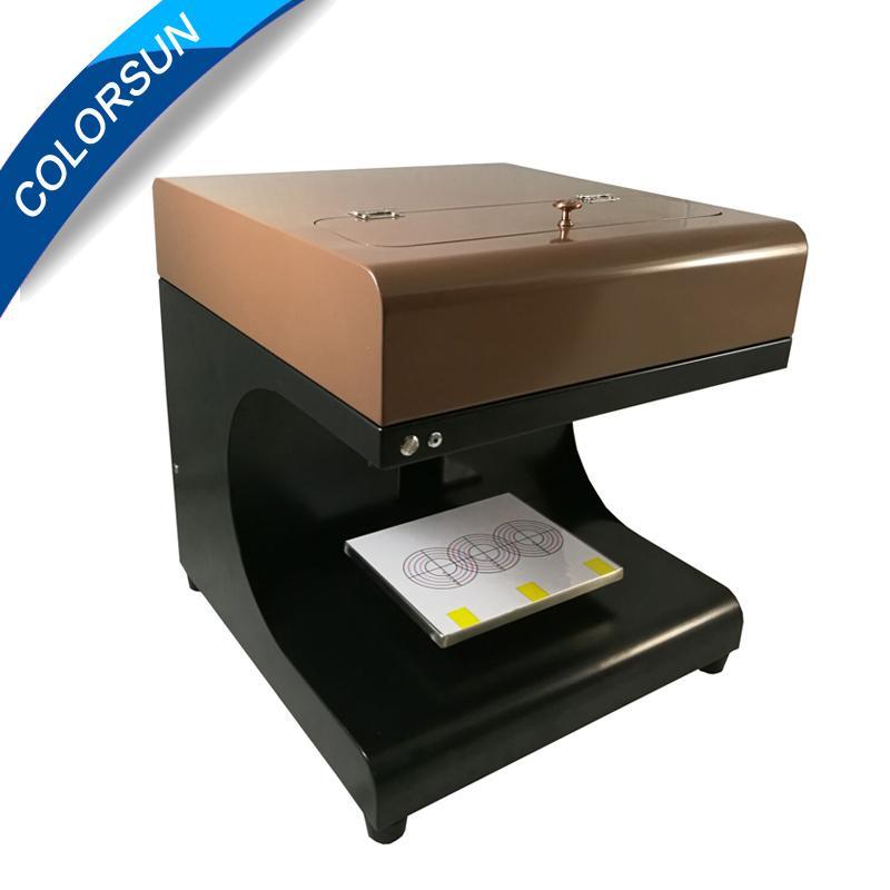 2017 Edible coffee printing 2cups printer 3
