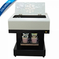 4 Cups Latte Art CSC1-4 Coffee Printer Automatic for Food tea coffee 2