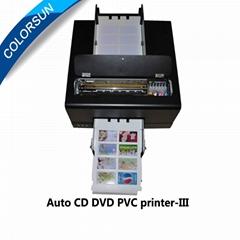 新款整體銷售自動數碼噴墨PVC卡和CD磁盤打印機