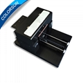 A3 Size Flatbed Printer T-Shirt Printer 1390 Printer Head With Heat Fuction