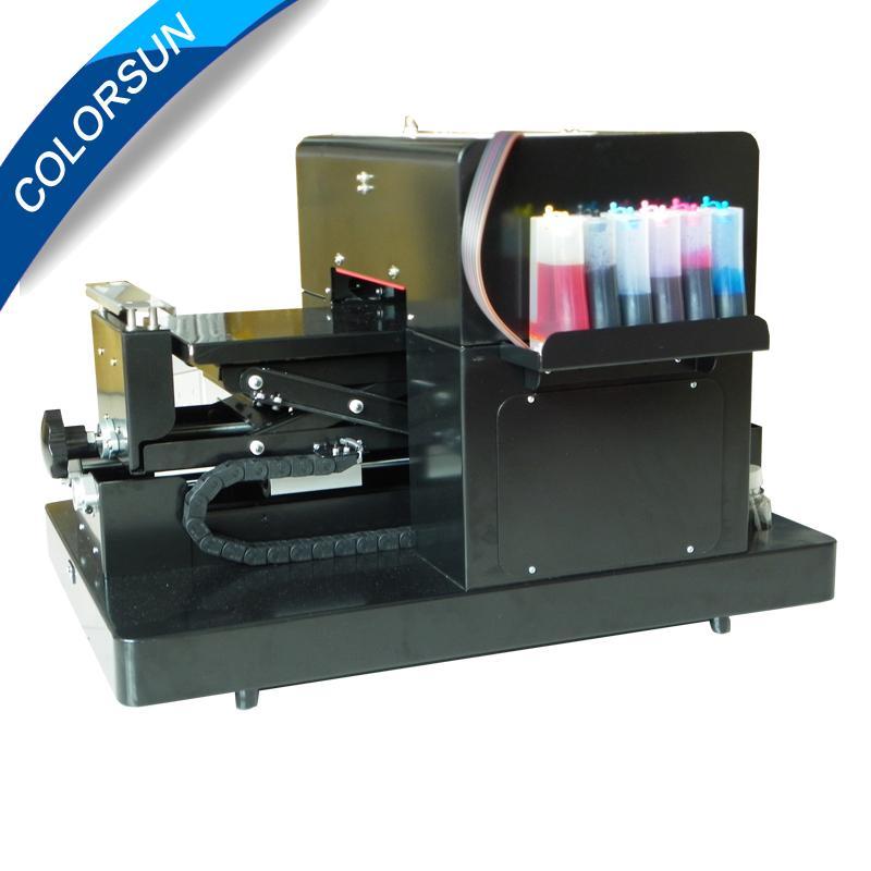 带笔记本电脑的A4尺寸无涂层平板打印机 2