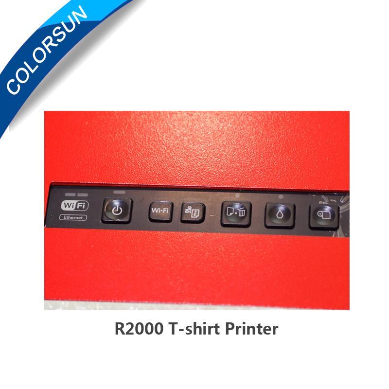 R2000 T-shirt Flatbed printer 3