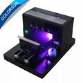 带笔记本电脑的A3 UV平板打印机 3
