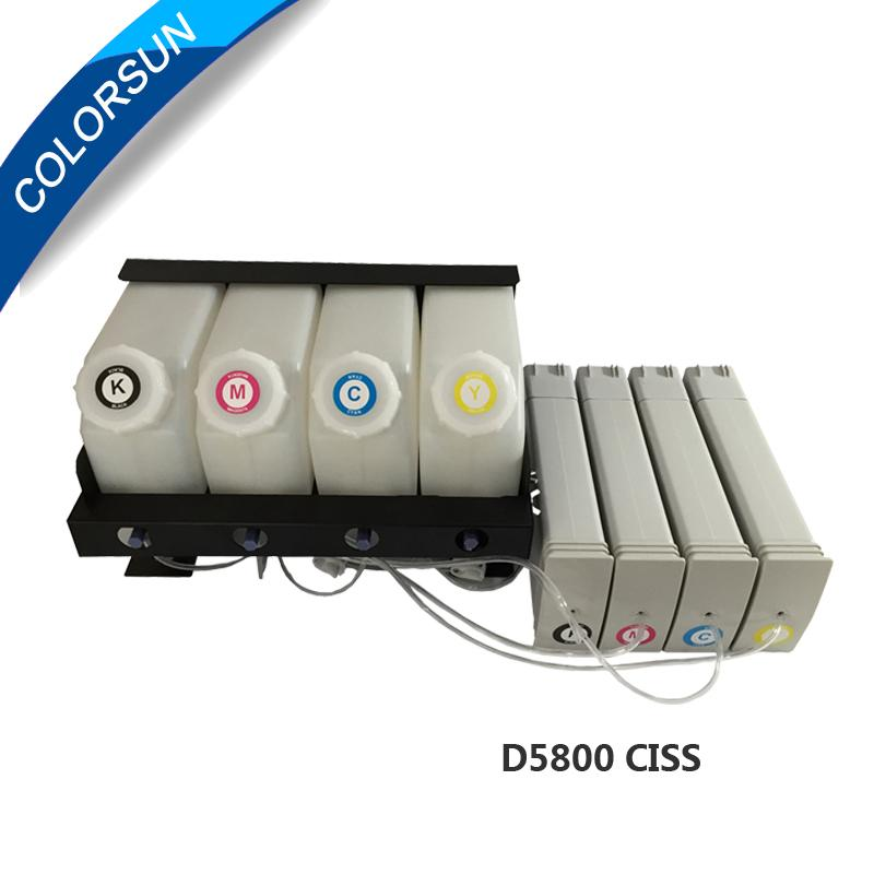 D5800 compatible ink ciss for  refillable ink 1