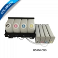 D5800 compatible ink ciss for  refillable ink