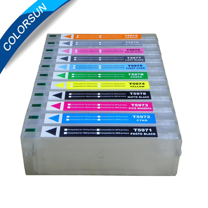 EPSON 7900/7910/9900/9910 填充墨盒 2