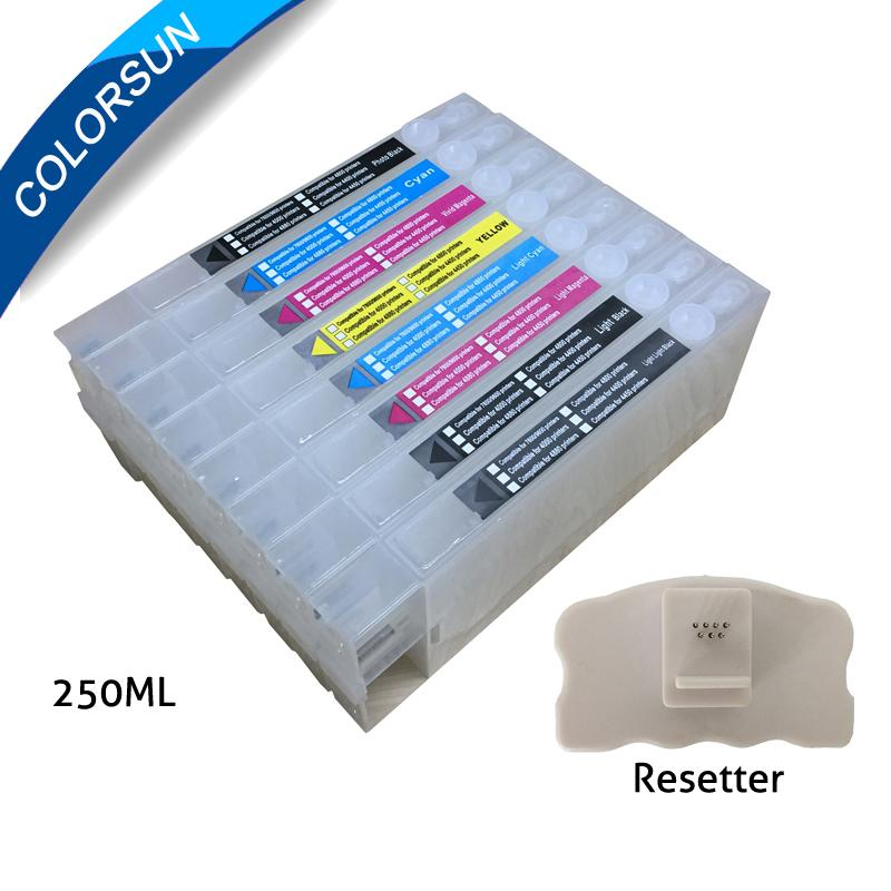 Epson4880/7880/7800/9800/9880 refillable cartridge