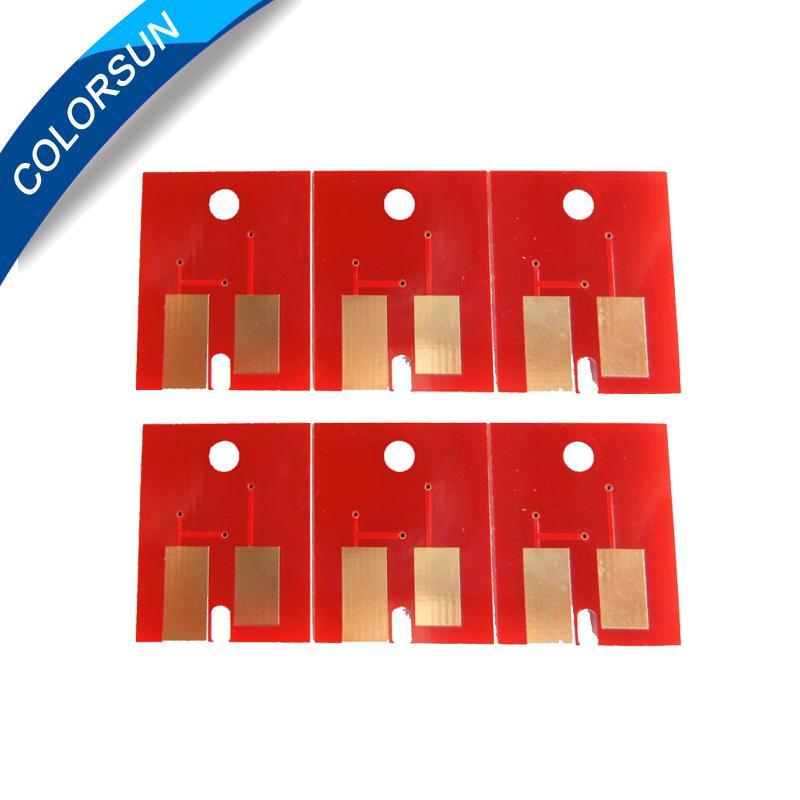 适用于Mimaki JV3 JV33 JV5墨盒的高质量6色  性芯片 2