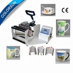 Multifunction mug press machine