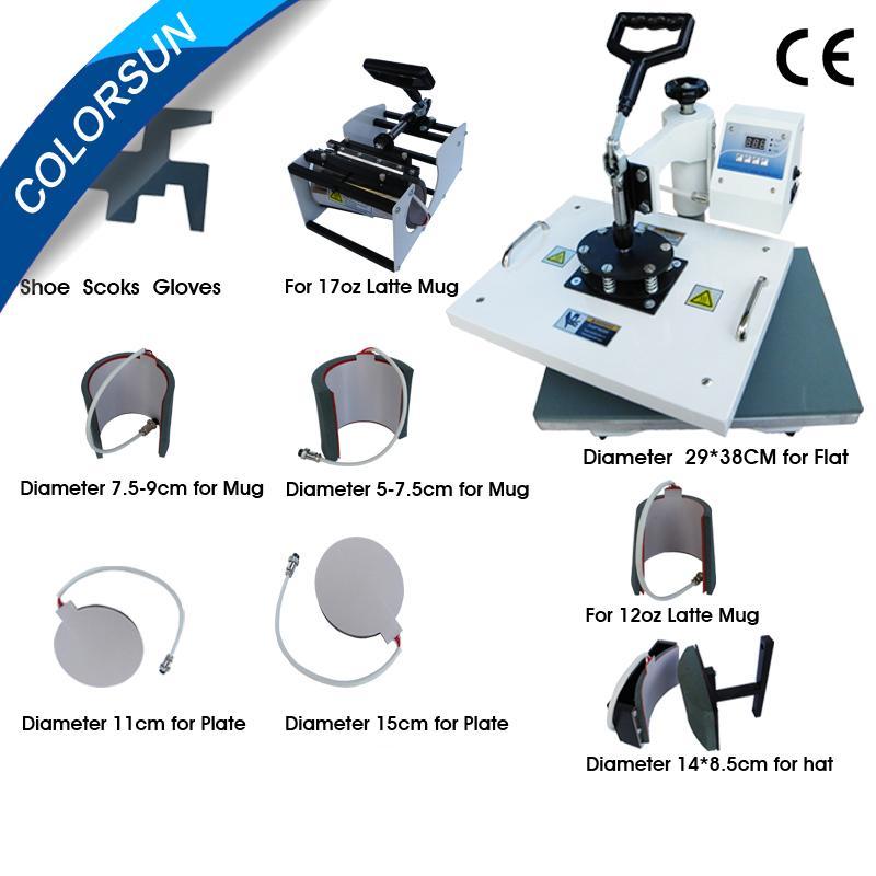 9 in 1 heat press machine-A - China - Manufacturer - Heat Press