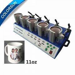 五工位烤杯機