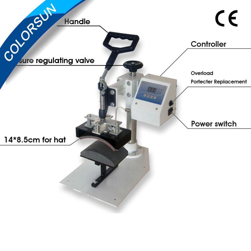 Baseball Cap heat press Machine 2