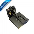 High pressure plain heat press machine