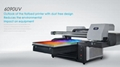 Automatic A2 TX6090 UV Printer large format machine with two printhead 12colors 2
