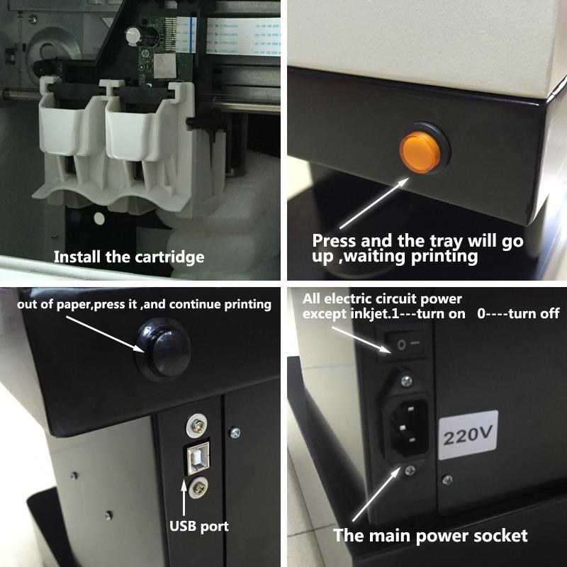 新到达CSC1自拍照咖啡打印机,用照片自己动手制作咖啡 5