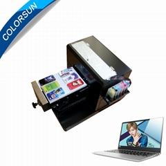 带笔记本电脑的A4尺寸无涂层平板打印机