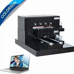 帶筆記本電腦的A3 UV平板打印機