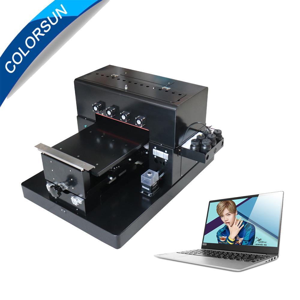 带笔记本电脑的A3 UV平板打印机 2