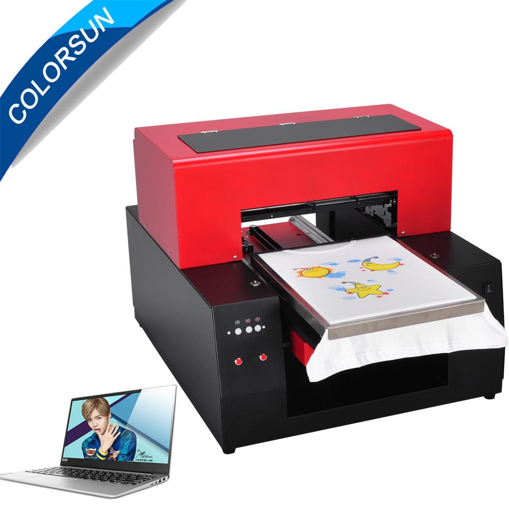 Automatic A3 Flatbed Printer with computer 2