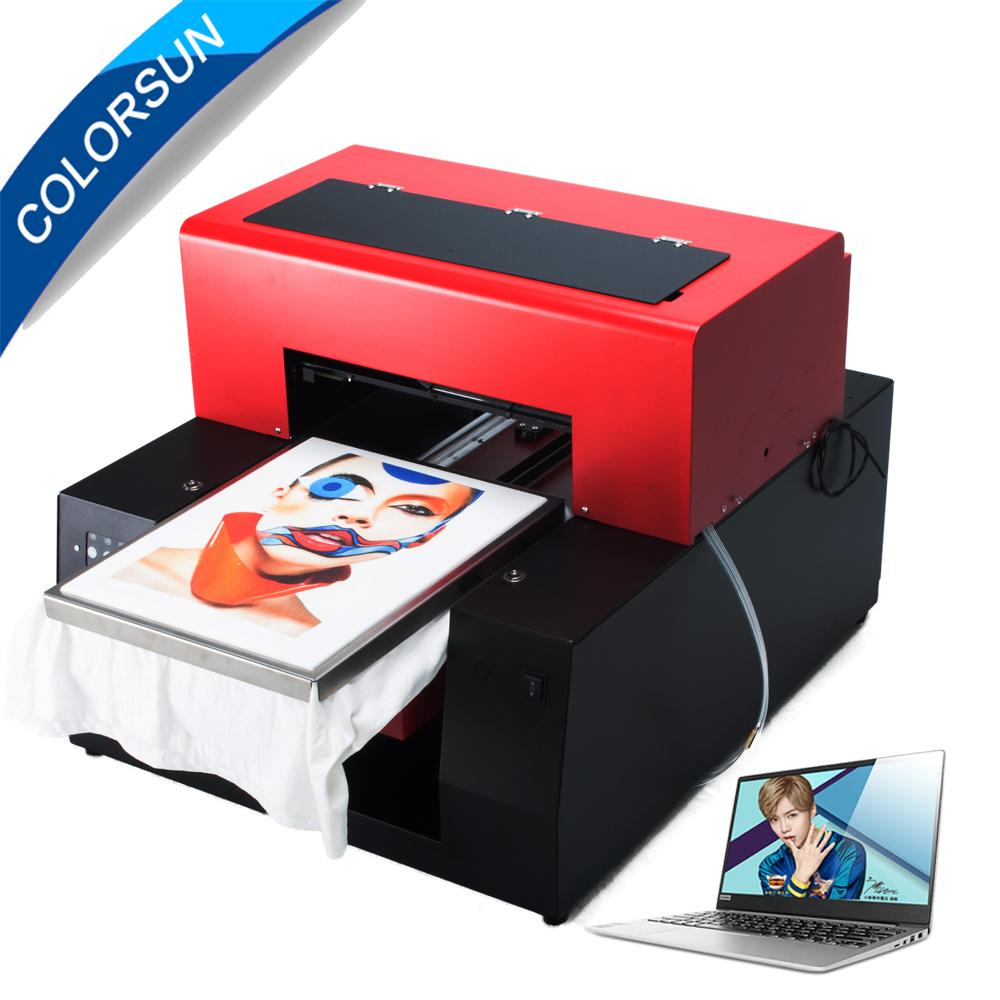 Automatic A3 Flatbed Printer with computer 1