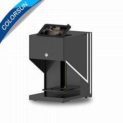 自动CSC4-II高速咖啡打印机带平板电脑打印