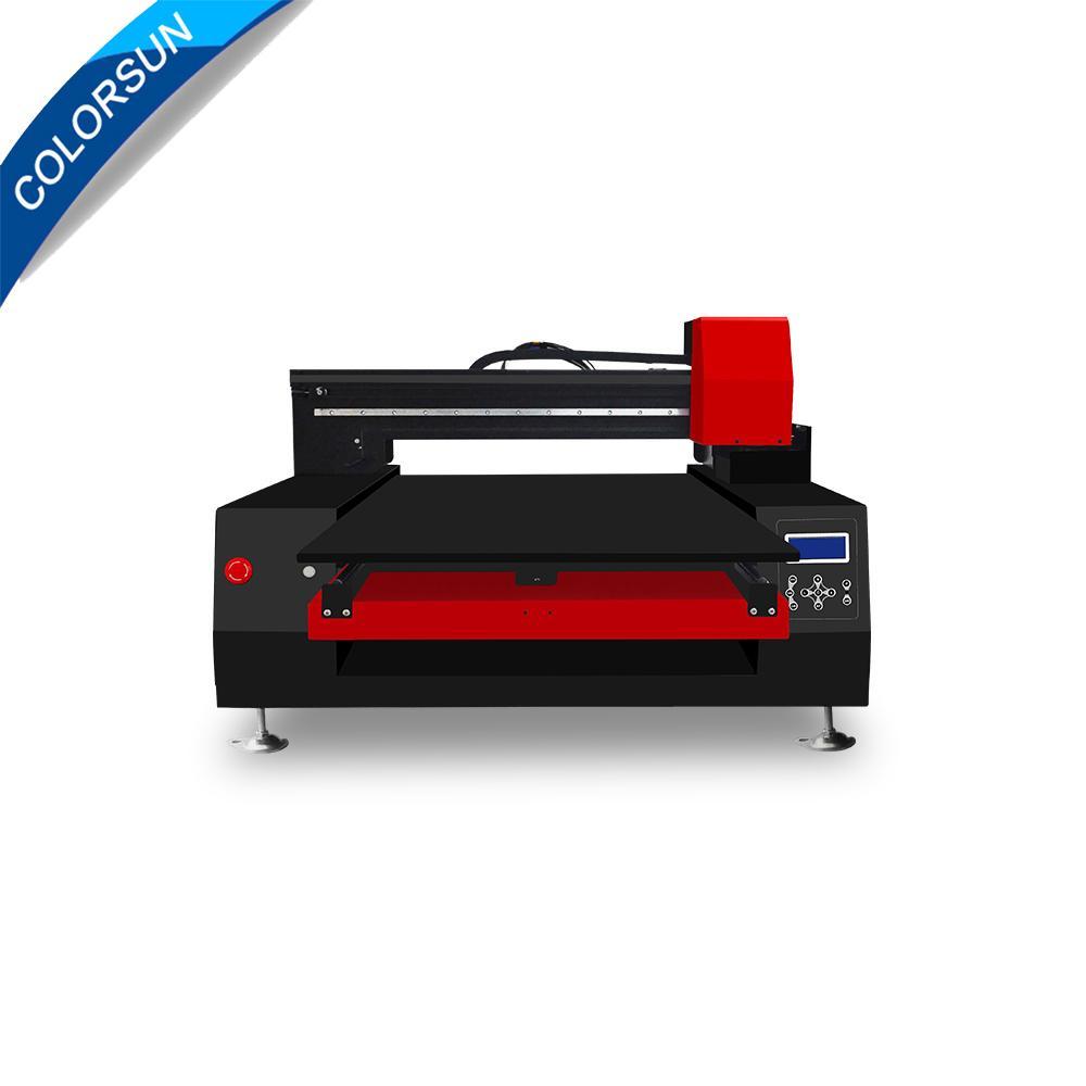 带有计算机的高速自动XP6090 UV打印机 1