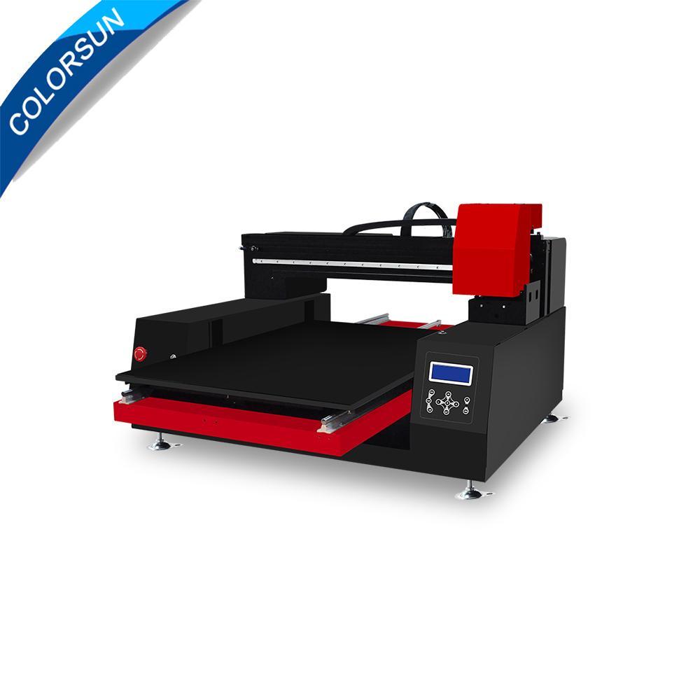 带有计算机的高速自动XP6090 UV打印机 2