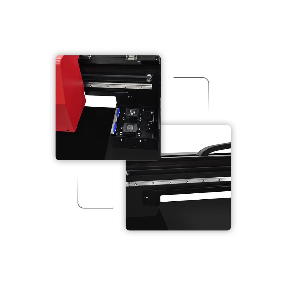 帶有計算機的高速自動XP6090 UV打印機 6