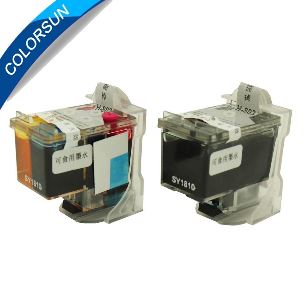 用于咖啡打印机的可食用墨盒用于HP 803BK 803颜色的食品打印机