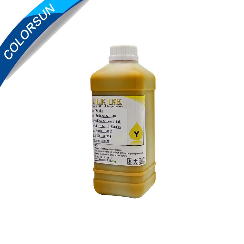 適用於中國DX5 DX6 DX7打印機的ECO-Solvent墨水和國外品牌MIMAKI ROLAND MUTOH等 3