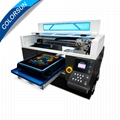 Colorsun Fast speed 8 color Automatic A3+ size T-shirt Flatbed printer 4720 DTG