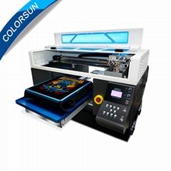 Colorsun快速8色自动A3 +大小T恤平板打印机4720 DTG