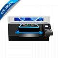 Colorsun快速8色自動A3 +大小T卹平板打印機4720 DTG
