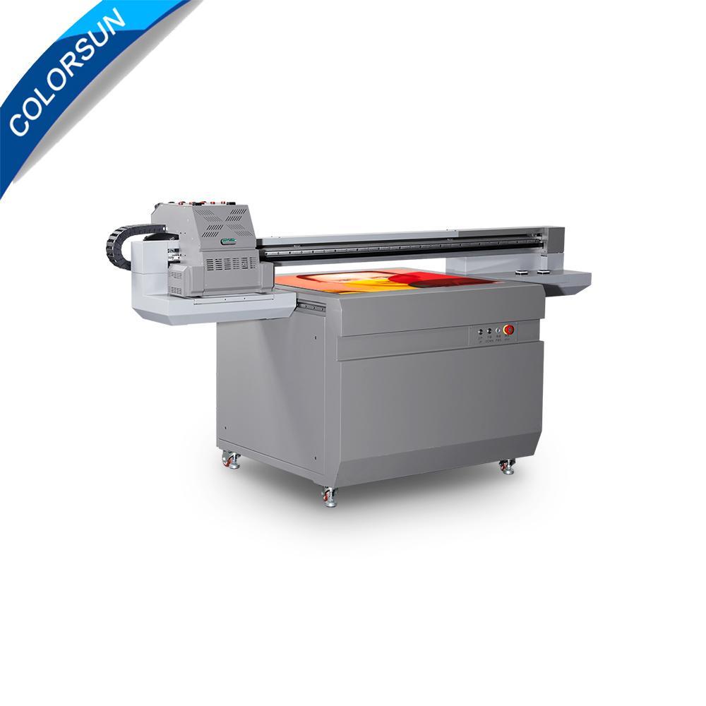 全新升级自动9060尺寸UV平板打印机大幅面打印机 1