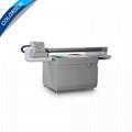 全新升級自動9060尺寸UV平板打印機大幅面打印機