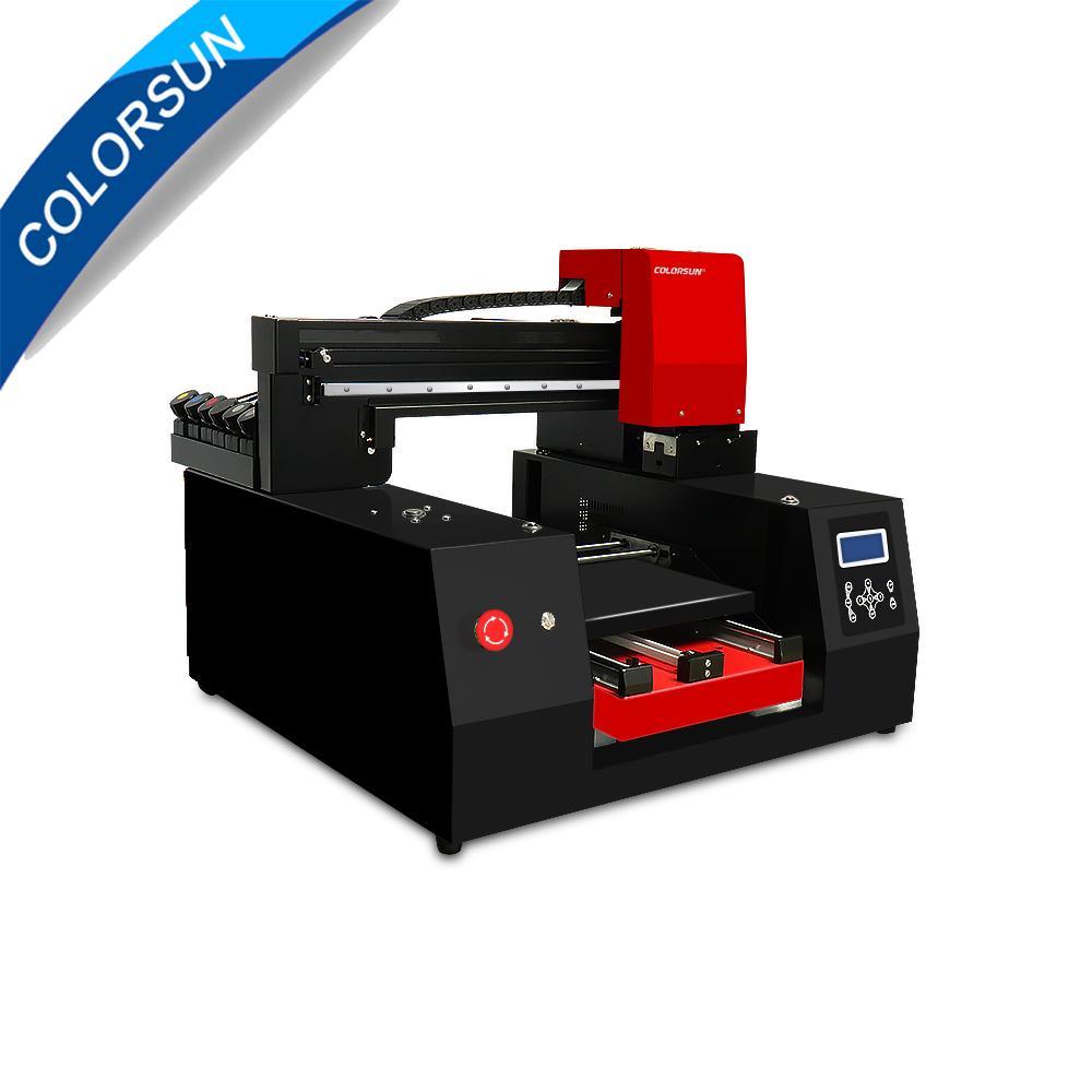 全自動帶有雙打印頭的A3 + 3060 UV打印機 1