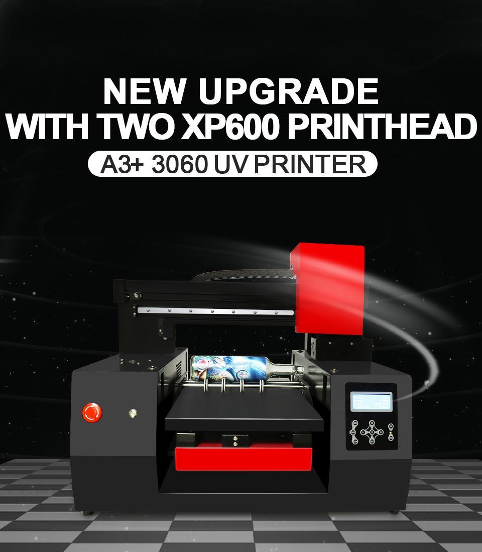 全自动带有双打印头的A3 + 3060 UV打印机 4