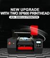 全自動帶有雙打印頭的A3 + 3060 UV打印機 4
