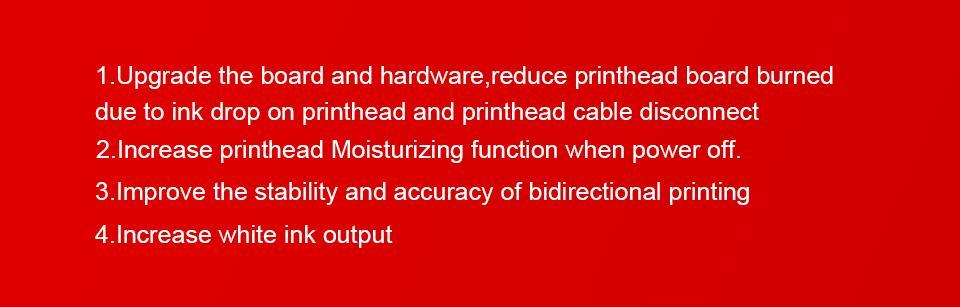 全自动带有双打印头的A3 + 3060 UV打印机 10