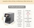 速度更快可自拍打印的CSC5咖啡啤酒果汁蛋糕拿鐵印花機 3