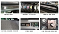 全自動6090 uv版印刷機印刷色彩,玻璃金屬塑料清漆uv印刷機A1 uv印刷機 5
