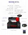 適用於Epson DX9工業A3+ UV打印機3060的移動蓋筆瓶印刷機 5