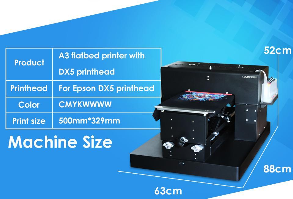 彩阳自动A3大小8色DX5 dtgR2000T恤打印机 3