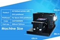 彩阳自动A3大小8色DX5 dtg纺织品打印机牛仔裤打印机 4