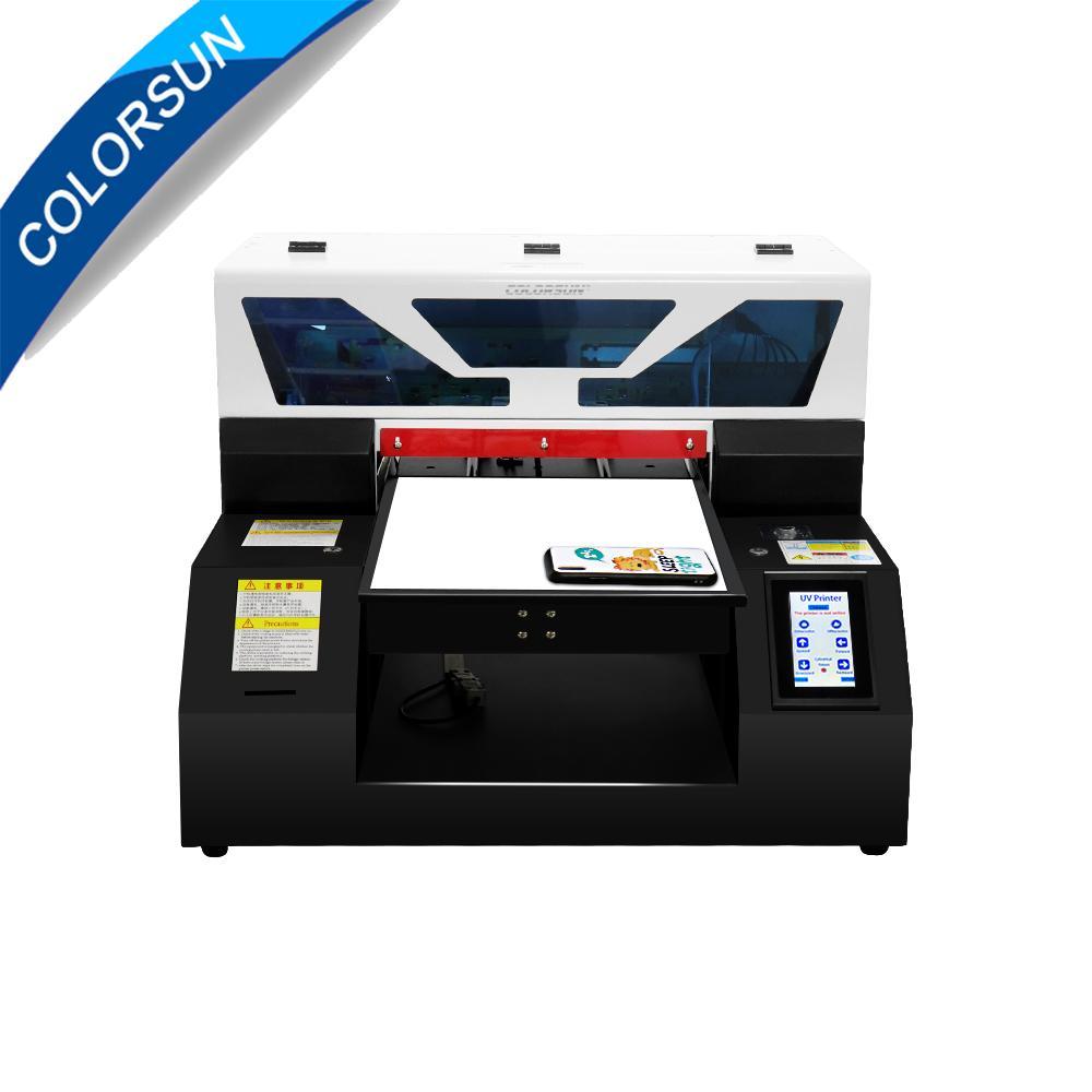 2019新款全自动A4UV打印机6种颜色 1