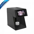 Faster selfie-printable coffee beer juice cake latte printing machine
