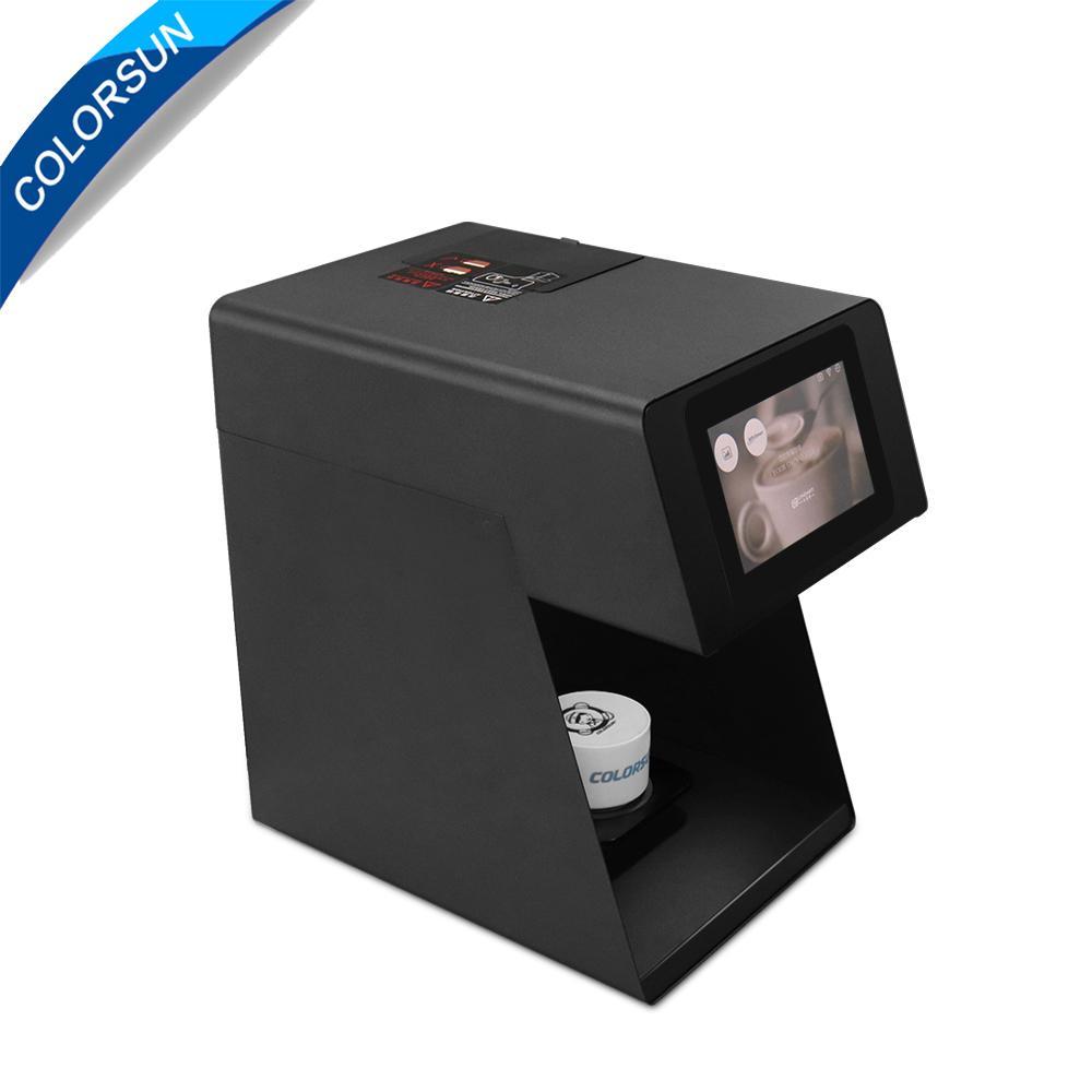 速度更快可自拍打印的CSC5咖啡啤酒果汁蛋糕拿鐵印花機 2