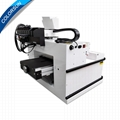 Automatic 3360 UV printer with double printheads 4